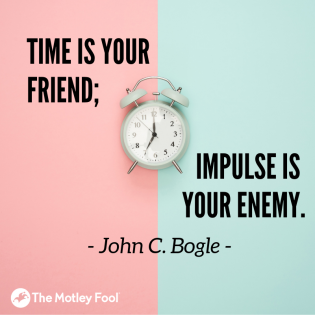 Time is your friend