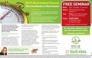 2017 Retirement Forum